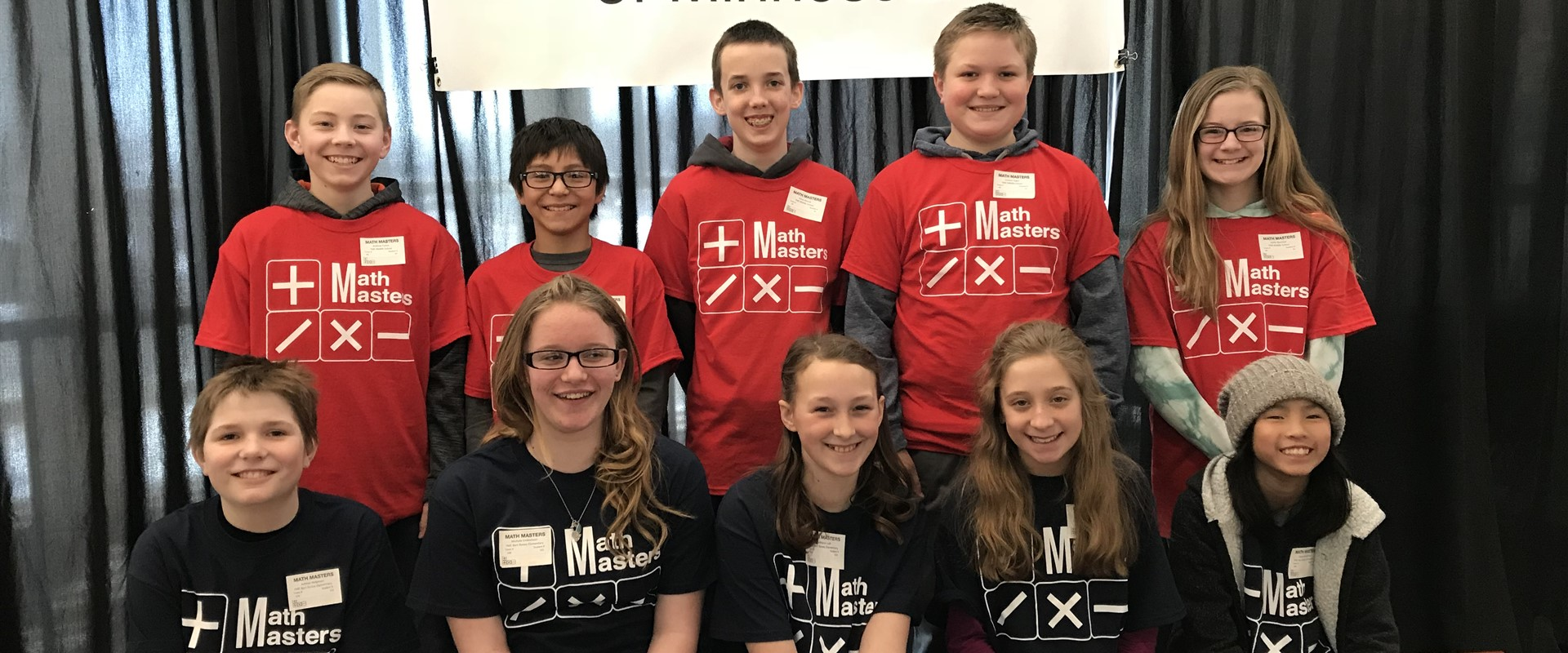 """Awesome mathematicians from YME...5th and 6th grade teams at the Math Masters competition at SMSU, last Thursday, April 19!!"""