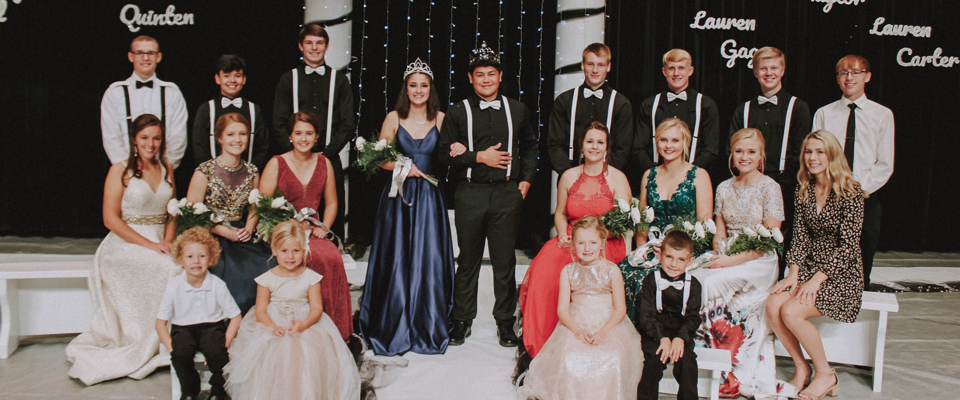 Congrats to the 2019 Homecoming Court, and Queen Marley Lara and King Angel Jimenez