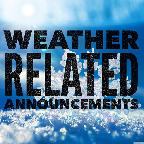 Weather Related Announcements Yellow Medicine East Schools